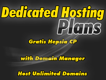 Reasonably priced dedicated hosting account